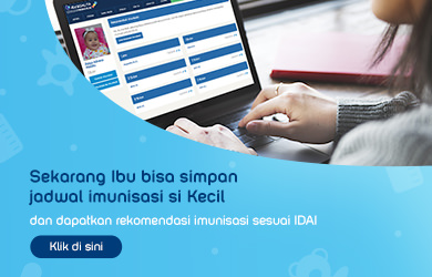 Jadwal Imunisasi IDAI