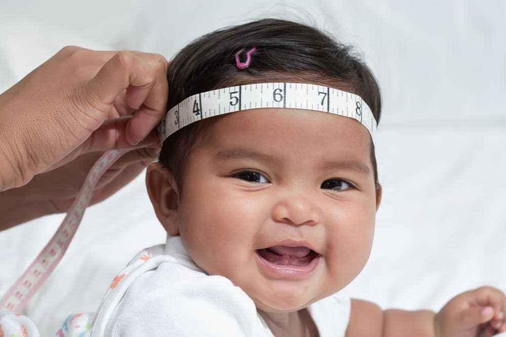 Ukuran Lingkar Kepala Bayi yang Normal