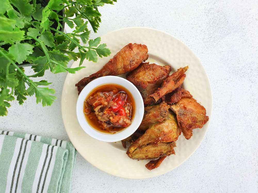 Resep Ayam Goreng Laos