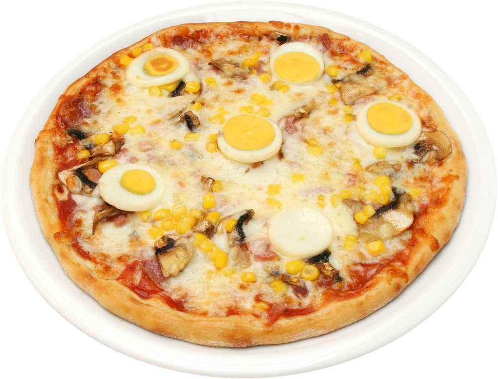 Pizza Ayam Telur Puyuh
