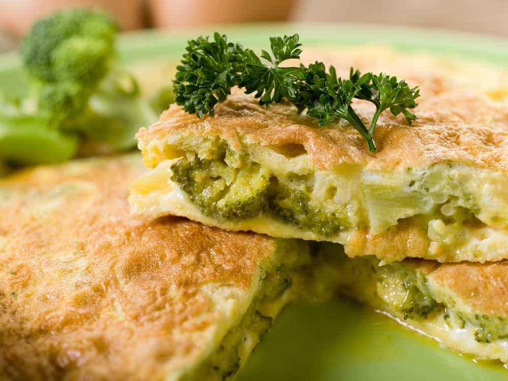 Perkedel Telur Brokoli