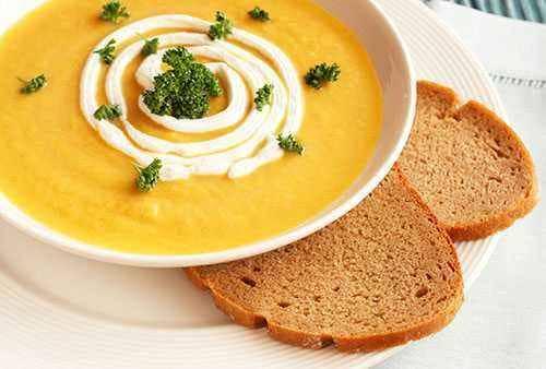 Sup Ubi Manis, Masakan Kaya Vitamin C
