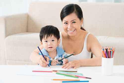Belajar Warna Dengan si Kecil