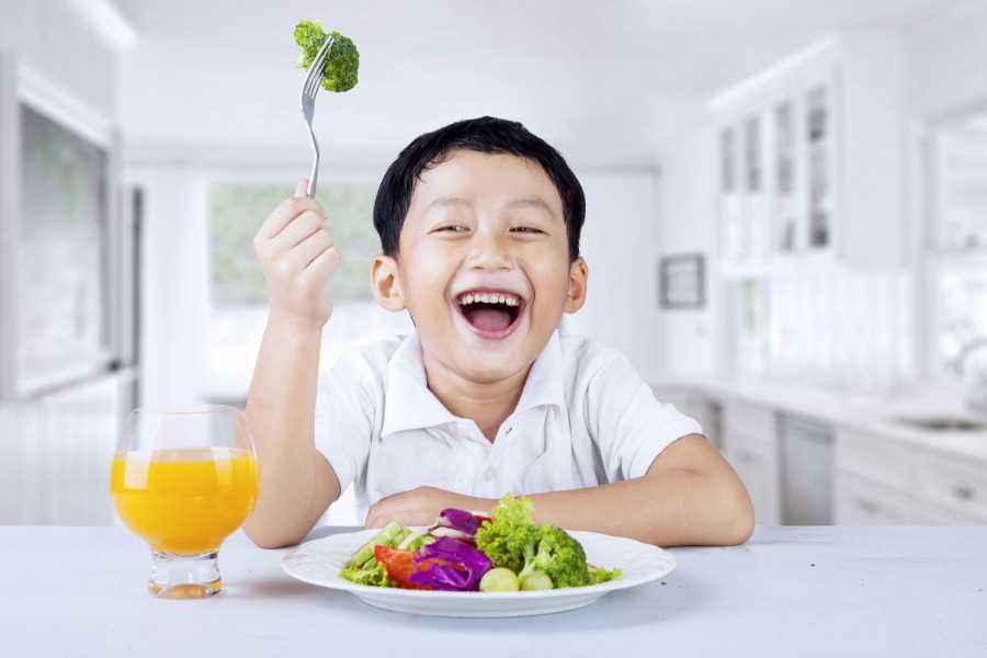 Siasat Jitu agar si Kecil Doyan Sayur