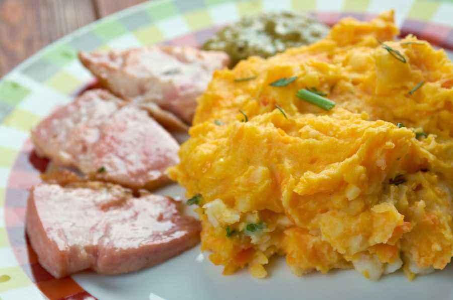 Kreasi Gurih Bubur Ubi dan Ayam