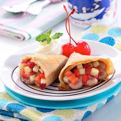 [FF Choco Recipe] Choco Fruit Crepes