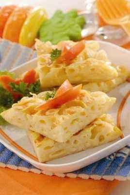Omelet Makaroni Keju