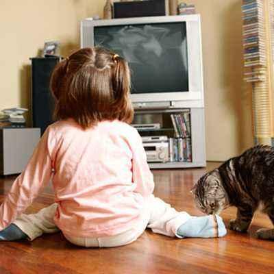 Pengaruh Televisi untuk si Kecil