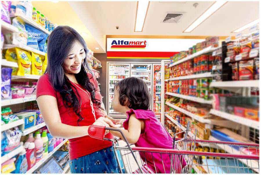 Belanja Gratis di Alfamart dengan Poin Ibu & Balita!